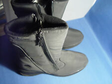 NIB TOTES ZIPPY WATRPROOF INSULATED WOMENS BOOTS BLACK