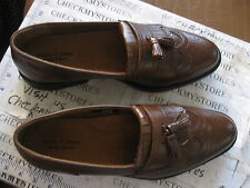 NIB NEW FRENCH SHRINER ESQUIRE LOAFER SLIP ON SHOES COMFORT SHOEMAKER