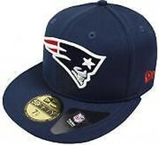 New Era NFL England Patriots Trainer Caps 59fifty Basic Fitted Basecaps Men's