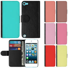 For Apple iPod Touch 6 6th/5 5th Gen Color Magnetic Card Wallet Case Phone Cover
