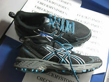 NEW NIB ASICS LADY GEL-ENDURO 7 Trail Running Shoes Onyx/Black/Blue T1G5Q 9090