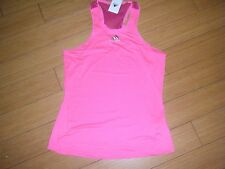 WOMENS Pink ADIDAS ADIZERO TENNIS RUNNING ATHLETIC WORKOUT TANK TOP CLIMACOOL