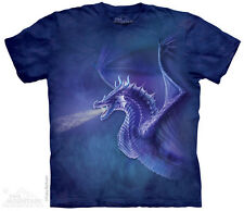 Mystical Dragon The Mountain Adult Size T-Shirt
