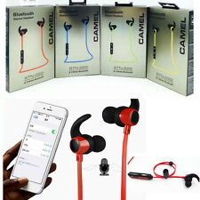 Sports In Ear Bluetooth 4.1 Wireless Stereo Headset Sweatproof Earbuds Universal