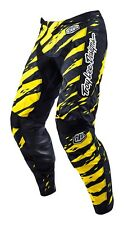 NEW 2016 TROY LEE DESIGNS TLD GP VERT MX DIRT BIKE PANTS YELLOW/ BLACK ALL SIZES