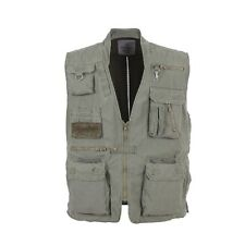 7580 Rothco Olive Drab Deluxe Safari Outback Vest