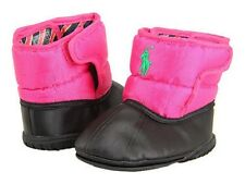 NIB Ralph Lauren Layette Kids Vancouver EZ (Infant) BOOTS NAVY OR FUCHSIA COLOR