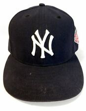 100th Anniversary 1903-2003 Patch NY YANKEES - New Era 59Fifty Fitted Hat 7 1/2