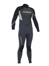 Gul Response Mens 4:3 4mm Blindstitch Steamer Full Winter Wetsuit Surf Dive