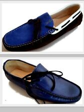 Shoes Moccasins Man Men Shoes Made in Italy Men Italian Leather Loafers Hi