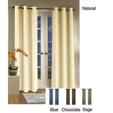 Weathermate Thermalogic Insulated Grommet 84-inch Curtain Panel Pair