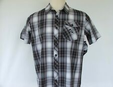 "METAL MULISHA MENS SHIRT BUTTONED ""STRATORED""  LARGE- BNWT"