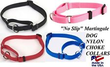 "DOGS Martingale ""Greyhound"" Style No Slip DOG Training Choke Collar SMALL-MEDIUM"