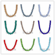 Bulk 10Pcs 16MM Faceted  Glass Crystal  5040 # Rondelle Loose Spacer Beads