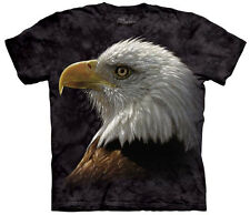 American Bald Eagle Portrait Close Up Animal Adult T-Shirt Tee
