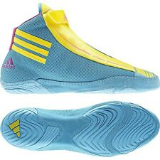 Adidas Adizero Sydney Wrestling shoes Wrestling shoes Rings Trainers blue yellow
