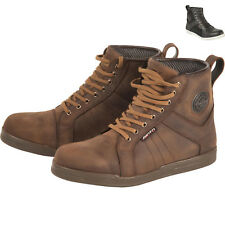 Akito Citizen Motorcycle Boots Waterproof Leather Motorbike Sneakers All Sizes