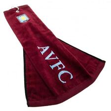 Aston Villa FC Golf Tri-Fold Towel Football Soccer EPL