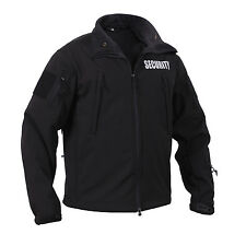 Rothco 97670 Special Ops Soft Shell Security Jacket - Black
