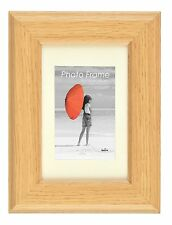 Harmony MDF Wooden Oak Photo Picture Frame