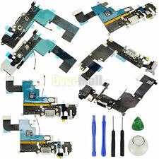 Charging Port Dock USB Connector Flex Cable For iPhone 6S 6 Plus 5S 5C 4S+Tools