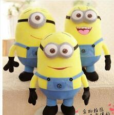 Despicable Me Plush Minion Soft Toy Stuffed Cuddly Teddy Doll 3D 7'' Kids Gift