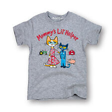 Pete The Cat Mommys Lil Helper TODDLER SHORT SLEEVE TEE Mother's Day