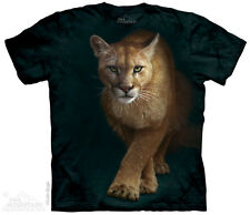 Emergence Mountain Lion The Mountain Adult Size T-Shirt