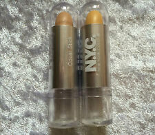 NYC Concealer Cover Stick in Medium or Yellow to Hide Marks & Freckles CHOOSE