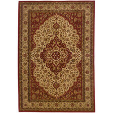 RUGS AREA RUGS CARPET AREA RUG FLOOR DECOR TRADITIONAL MEDALLION RED RUGS NEW