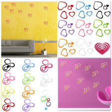 3D DIY Art Wall Sticker Home Decor Removable Decorations Multi-Color