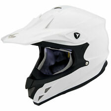 Scorpion VX-34 Solid Offroad Motocross Motorcycle Helmet White