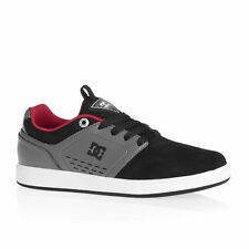 DC Trainers - DC Cole Signature Boy Trainers - Black/Grey/Red