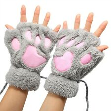 Wholesale Gloves Fingerless Claw Design Women Plush New Winter Warm Party DZ88