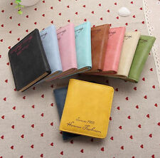 Womens Leather Wallet Coin Purse Clutch Wallet Lady ID Card Holder Small Bag New