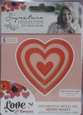 Nested Hearts - Crafter's Companion Sara Signature Love & Romance Dies
