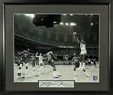 "Michael Jordan Signature Series Photo Framed ""Winning Shot"" UNC - 2 Sizes"