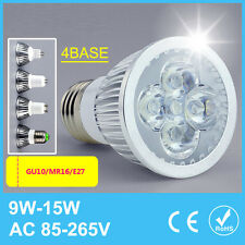 LED Spotlight E27 MR16 GU10 9W 12W 15W Light Bulb Lamp Warm Cool White 85-265V
