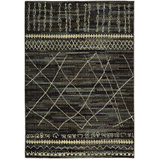 RUGS AREA RUGS CARPET AREA RUG FLOOR DECOR MODERN ABSTRACT BLACK RUGS NEW