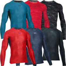 Under Armour HeatGear Compression Armour Printed Longsleeve Baselayer Shirt 2016