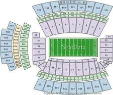 2 SOUTH CAROLINA VS WESTERN CAROLINA FOOTBALL TICKETS LOW SIDELINE NEAR50 11/19