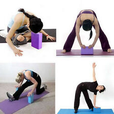 Yoga Pilates Foam Foaming Block Brick Stretch Aid Health Fitness Exercise Gym