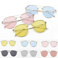Womens Retro Sunglasses Eyewear Outdoor Classic Oversized Vintage Fashion Shades