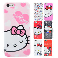 Hello Kitty Case [Colorful Series] iPhone Plastic Back Cover Hard Bumper Skin