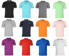 Mens Slazenger Polo Shirt T Shirt Golf Tennis Pique Top M L XL XXL 3XL 4XL New