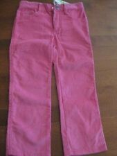 NWT MORGAN & MILO TODDLER GIRLS CORDUROY PANTS PINK OR GREEN SIZE 3, 4, 5