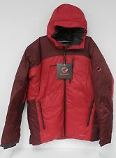Mammut Mens Ambler Hooded Down Jacket Dark Inferno Red 42899 New