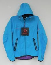 Mammut Womens Ultimate Hoody Jacket Carribean Blue New Full Zip Small