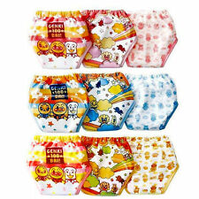 Baby Kids 3pcs Girls Boys Toilet Potty Training Pants Diaper Cotton Underwear
