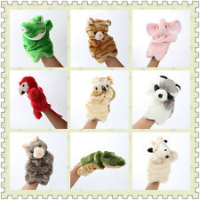 Animals Coloful Plush Hand Puppet Baby Kids Bunny hand puppet Games Pre-School